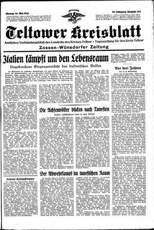 Teltower Kreisblatt vom 10.05.1943