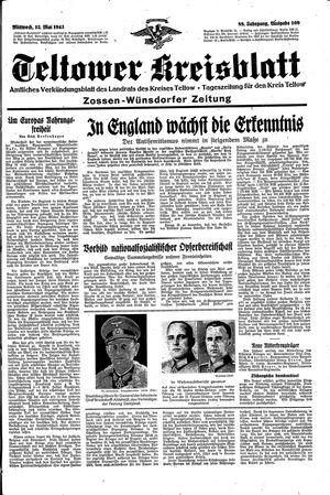 Teltower Kreisblatt vom 12.05.1943