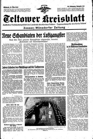 Teltower Kreisblatt vom 19.05.1943