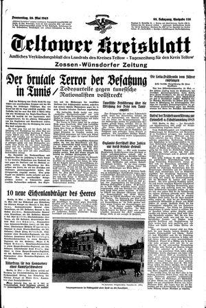 Teltower Kreisblatt vom 20.05.1943
