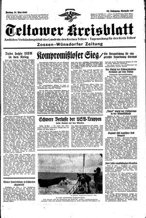 Teltower Kreisblatt vom 21.05.1943