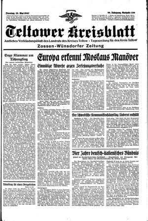 Teltower Kreisblatt vom 25.05.1943