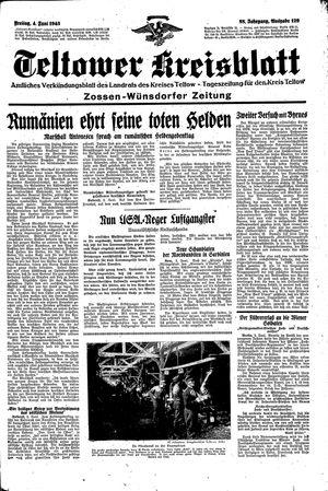 Teltower Kreisblatt vom 04.06.1943
