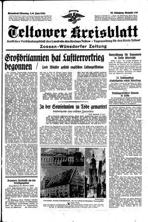 Teltower Kreisblatt vom 05.06.1943
