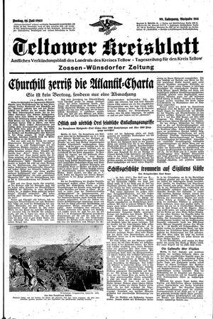 Teltower Kreisblatt vom 16.07.1943