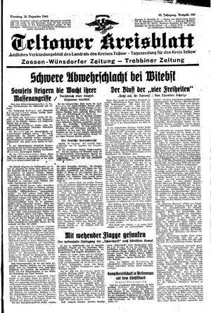 Teltower Kreisblatt vom 28.12.1943