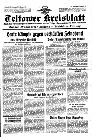 Teltower Kreisblatt vom 08.01.1944