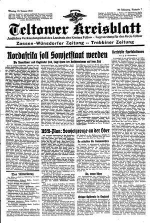Teltower Kreisblatt vom 10.01.1944