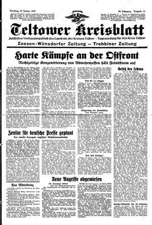 Teltower Kreisblatt vom 18.01.1944