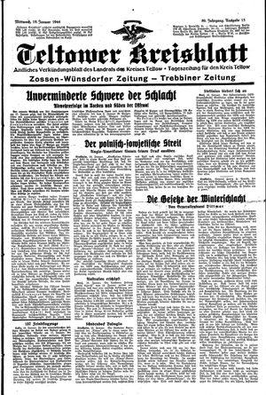 Teltower Kreisblatt vom 19.01.1944