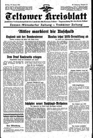 Teltower Kreisblatt vom 28.01.1944