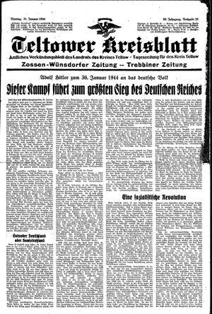 Teltower Kreisblatt vom 31.01.1944