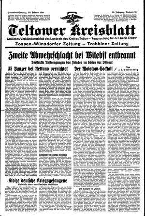 Teltower Kreisblatt vom 05.02.1944