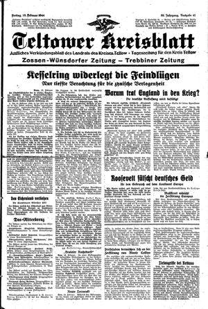Teltower Kreisblatt vom 18.02.1944