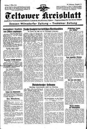 Teltower Kreisblatt vom 03.03.1944
