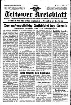 Teltower Kreisblatt vom 04.03.1944