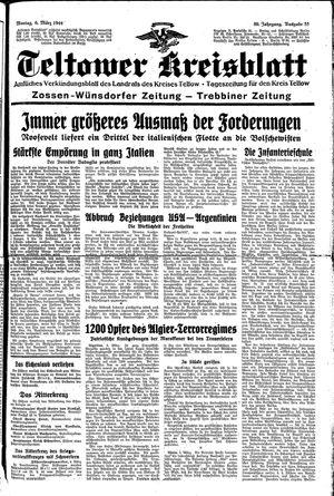 Teltower Kreisblatt vom 06.03.1944