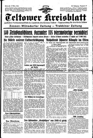 Teltower Kreisblatt vom 08.03.1944