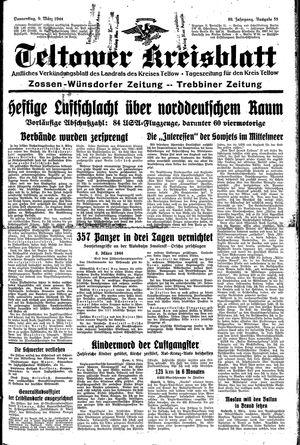 Teltower Kreisblatt vom 09.03.1944