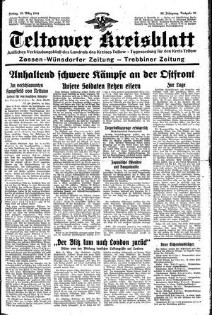 Teltower Kreisblatt vom 10.03.1944
