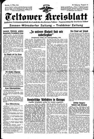 Teltower Kreisblatt vom 13.03.1944