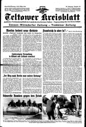 Teltower Kreisblatt vom 18.03.1944