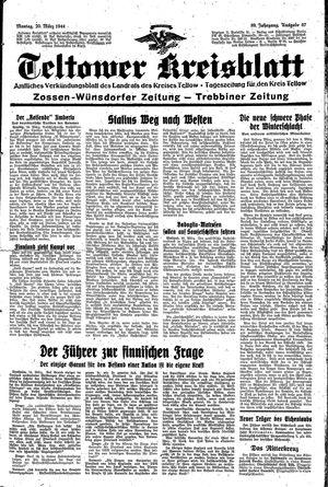 Teltower Kreisblatt vom 20.03.1944