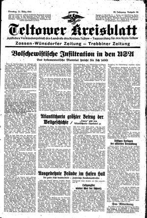 Teltower Kreisblatt vom 21.03.1944