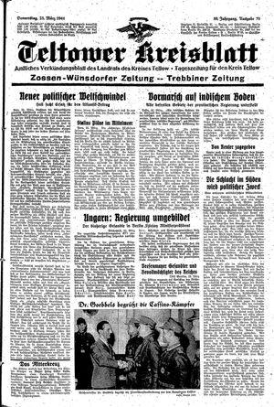 Teltower Kreisblatt vom 23.03.1944