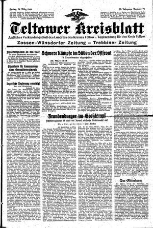 Teltower Kreisblatt vom 24.03.1944