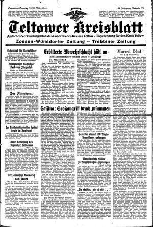 Teltower Kreisblatt vom 25.03.1944