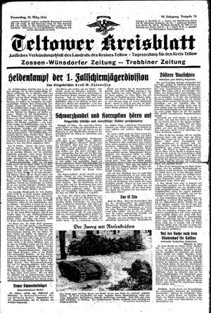Teltower Kreisblatt vom 30.03.1944
