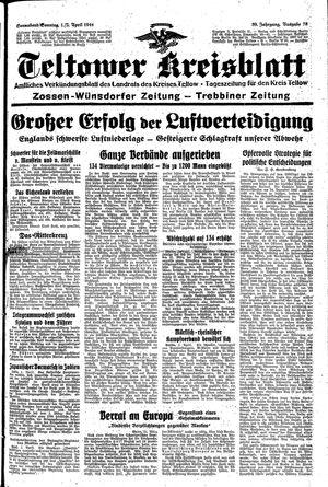 Teltower Kreisblatt vom 01.04.1944