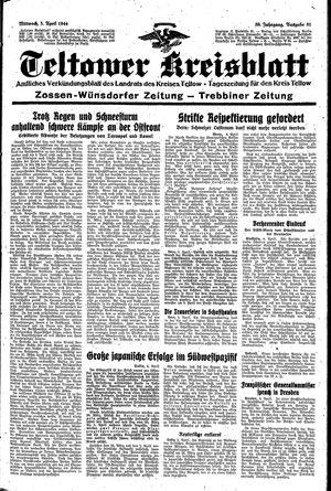 Teltower Kreisblatt vom 05.04.1944