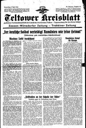 Teltower Kreisblatt vom 06.04.1944