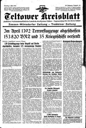 Teltower Kreisblatt vom 02.05.1944