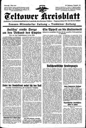 Teltower Kreisblatt vom 03.05.1944