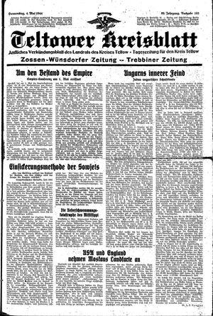 Teltower Kreisblatt vom 04.05.1944