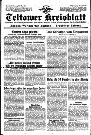 Teltower Kreisblatt vom 06.05.1944