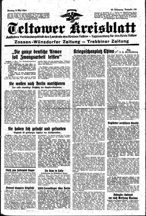 Teltower Kreisblatt vom 08.05.1944