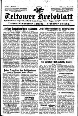 Teltower Kreisblatt vom 09.05.1944