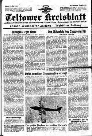 Teltower Kreisblatt vom 12.05.1944