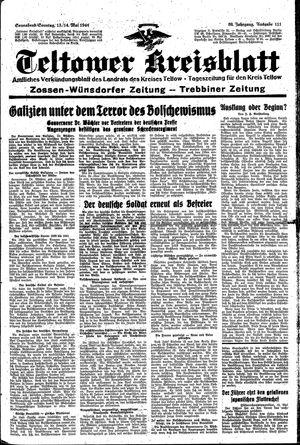 Teltower Kreisblatt vom 13.05.1944