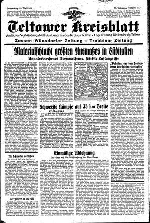 Teltower Kreisblatt vom 18.05.1944