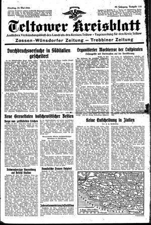 Teltower Kreisblatt vom 23.05.1944