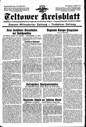 Teltower Kreisblatt vom 27.05.1944