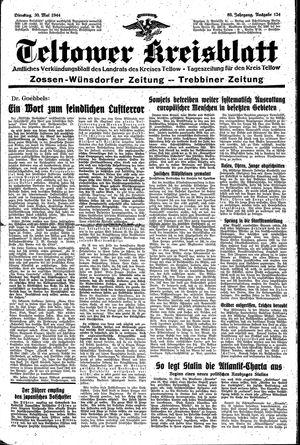 Teltower Kreisblatt vom 30.05.1944