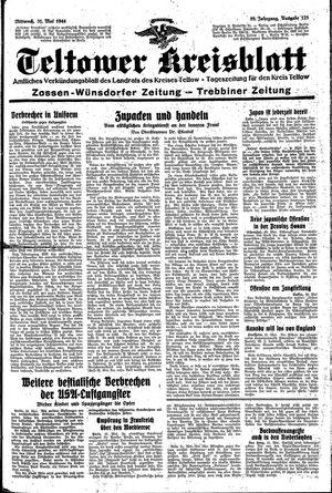 Teltower Kreisblatt vom 31.05.1944
