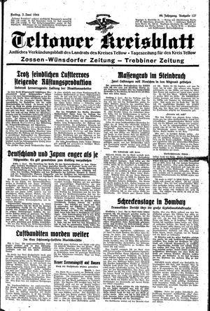 Teltower Kreisblatt vom 02.06.1944