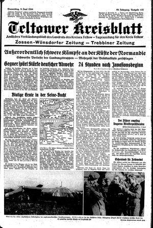 Teltower Kreisblatt vom 08.06.1944